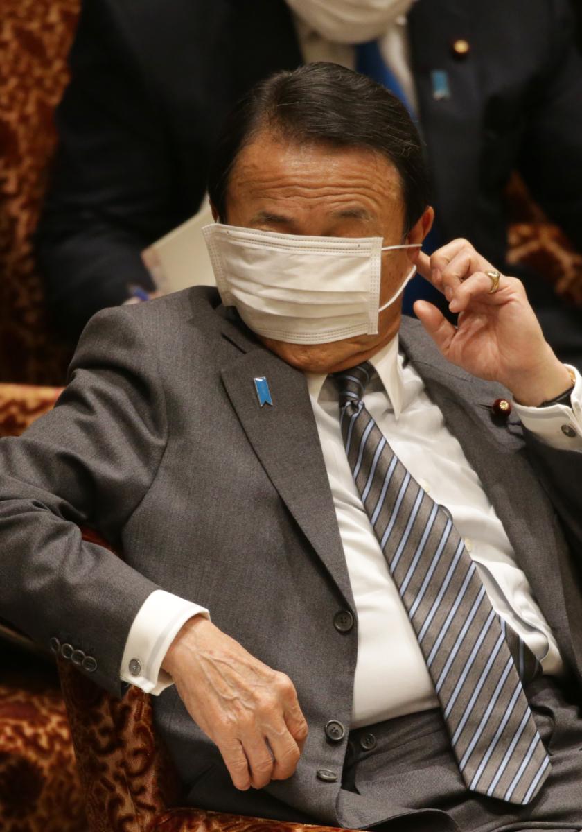 マスク の 麻生 さん